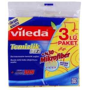 VİLEDA MİCROFİBER 3 LEATHER CLOTH