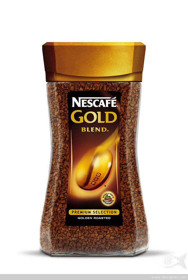NESCAFE GOLD 200 GR GLASS