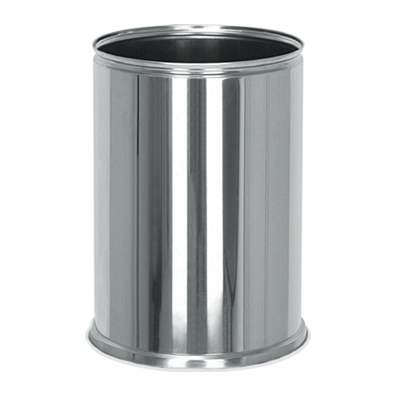TABLE SIX STAINLESS TRASH