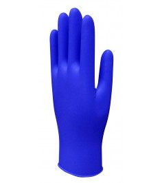 EXAMINATION GLOVES BLUE