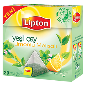 LEMON melisal pyramid tea bags
